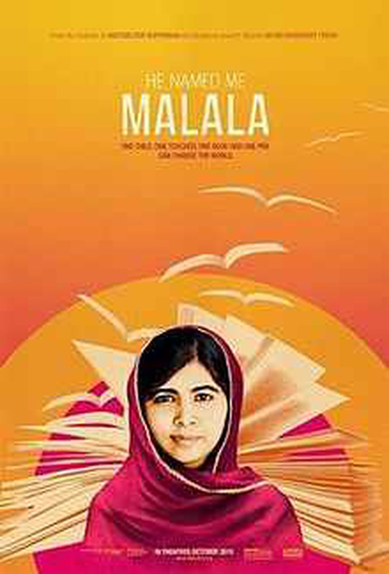 He Named Me Malala Theatrical Release Poster