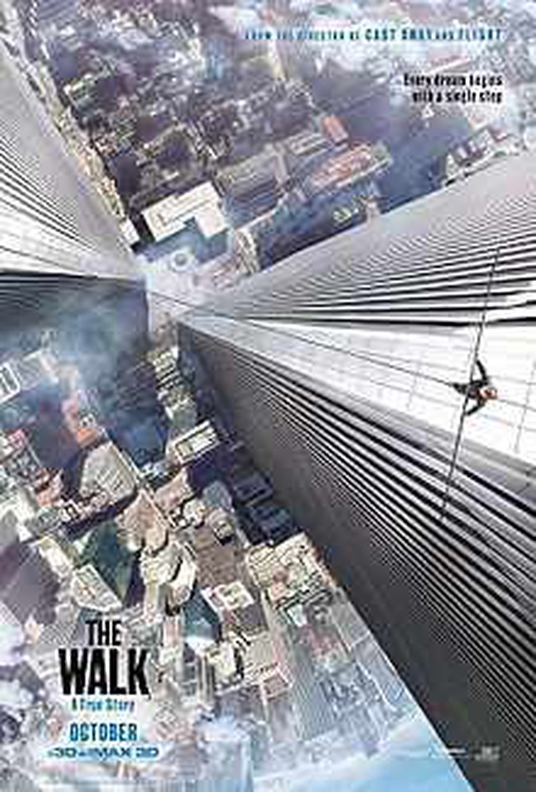 The Walk Theatrical Release Poster