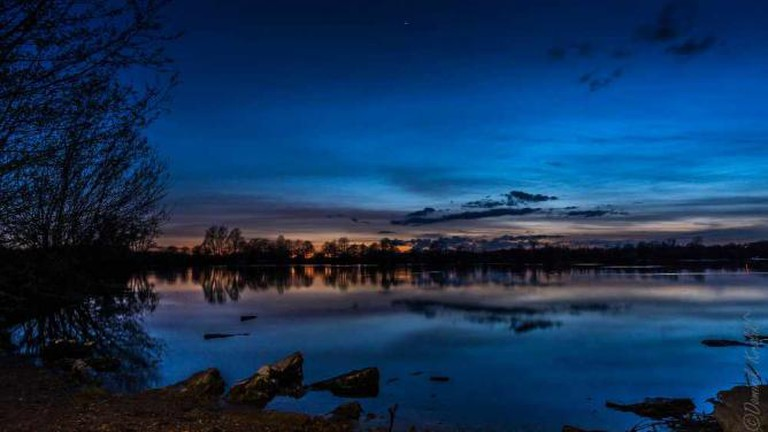 Ferry Meadows at Night | © Dominik ^/Flickr