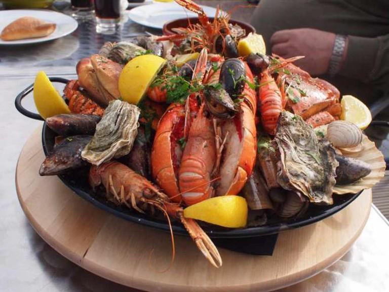 Seafood platter   © Tom O'Malley/Flickr