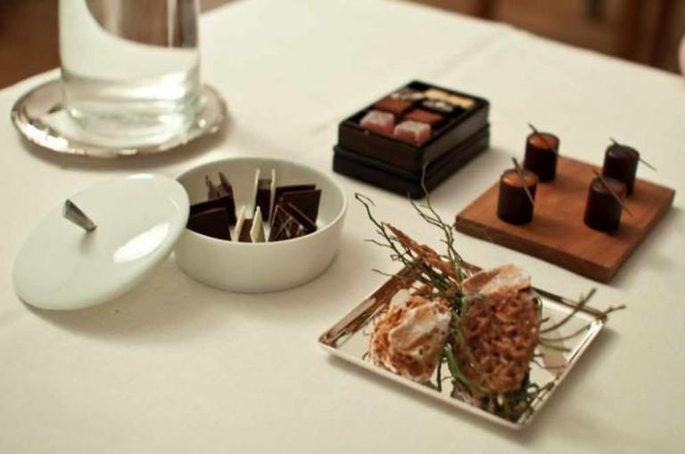 Food served in Oaxen Krog © Robert Young/Flickr