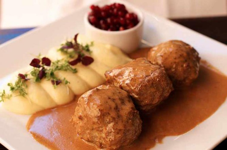 Swedish meatballs © David Kosmos Smith/Flickr