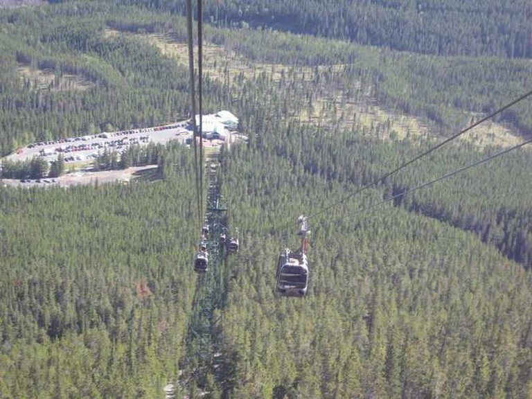 View of Banff from Gondola