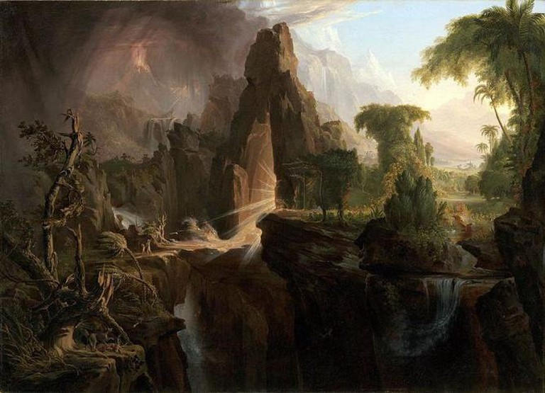 Expulsion from the Garden of Eden, Cole Thomas | © Museum of Fine Arts, Boston/WikiCommons