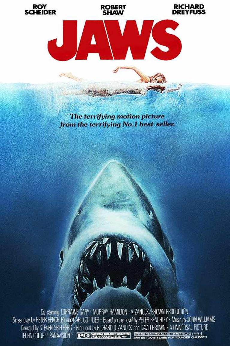 Jaws Movie Poster |© Universal Pictures