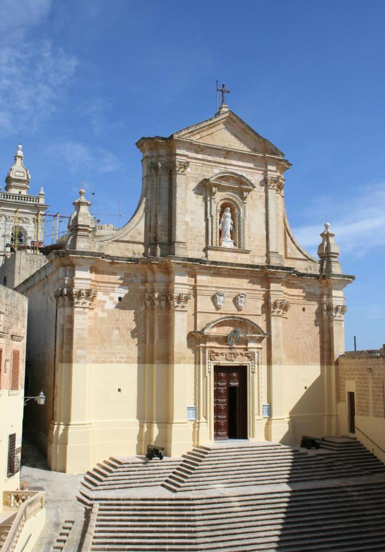 The Citadel cathedral in Gozo
