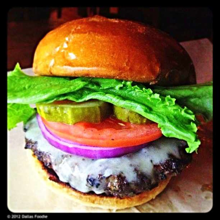 A classic cheeseburger with fresh ingredients at Goodfriend Beer Garden and Burger House.
