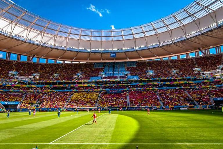 Estádio Nacional Mané Garrincha, Brasília © AC Moraes/Flickr