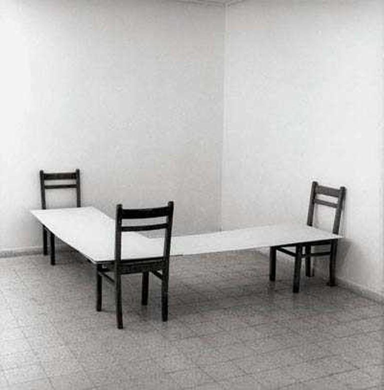 Nahum Tevet, Corner, 1974   © Tel Aviv Museum of Art/WikiCommons