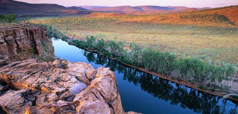 Pentecost River on Kimberley Plateau © Miquitos