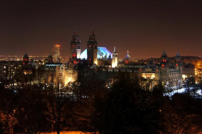 Glasgow by night   © lanan/Flickr