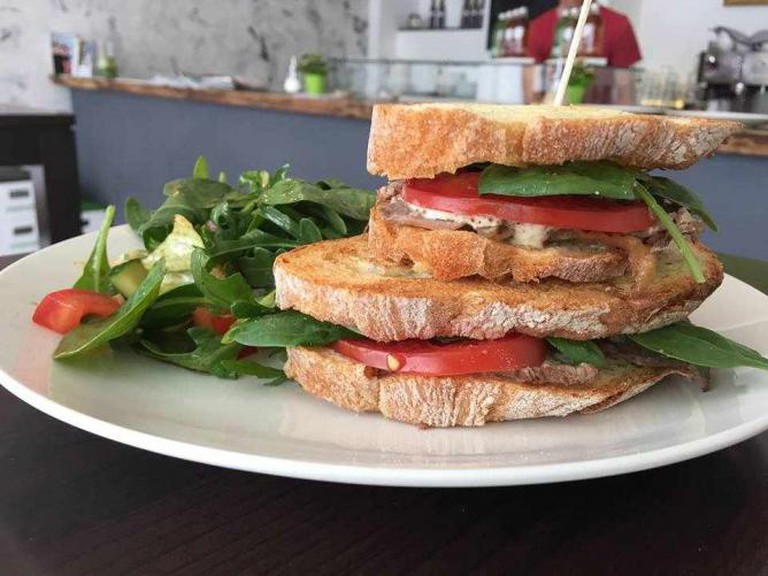 Healthy sandwich | Courtesy of Cafe Lilly's