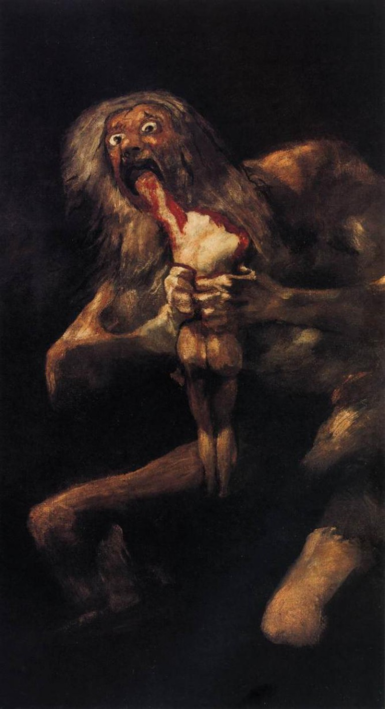 Saturn Devouring His Son, Goya | © Web Gallery of Art/WikiCommons