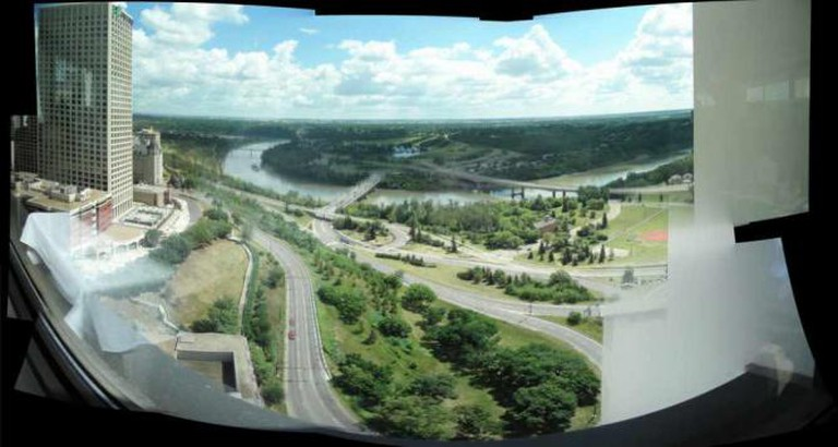 river valley from 'la ronde'