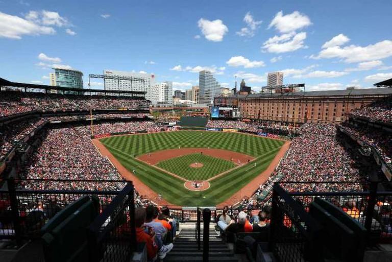 Stadium | Image courtesy of Oriole Park at Camden Yards