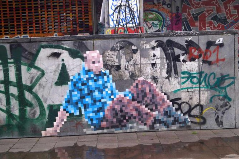 Recyclart graffiti | © Yana Pargova