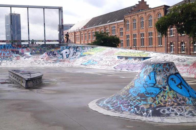 Recyclart skatepark | © Yana Pargova