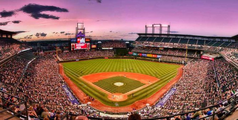 A photo of Coors Field
