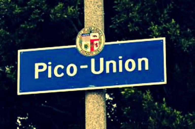 Pico Union sign, Los Angeles | © C. Marie Cradle