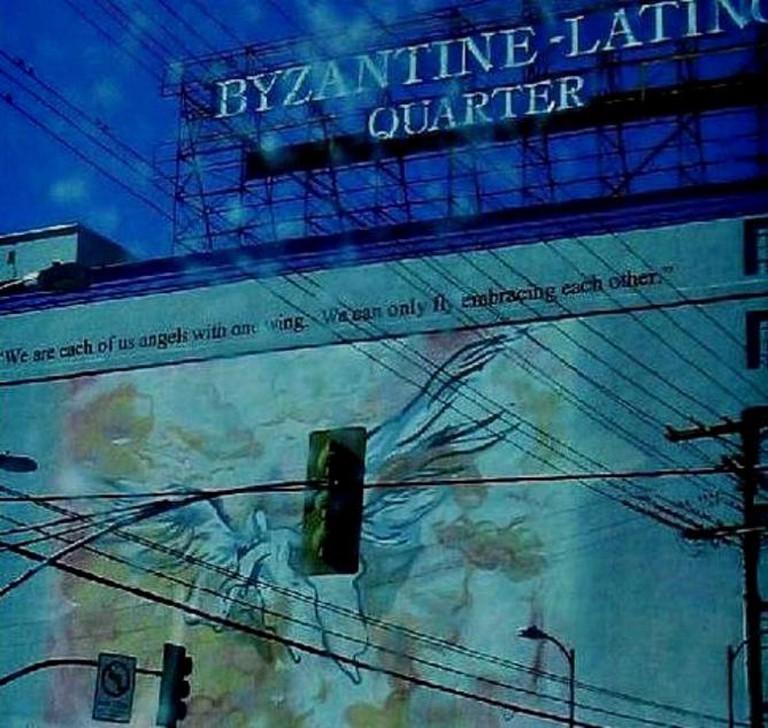 Pico-Union area mural, Los Angeles | © C. Marie Cradle