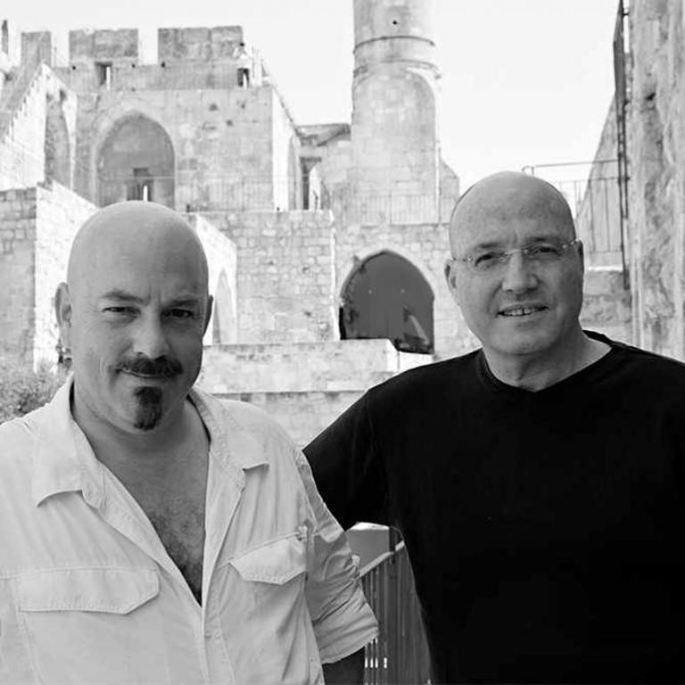 Haim Parnas & Ezri Tarziri © Hamutal Wachtal