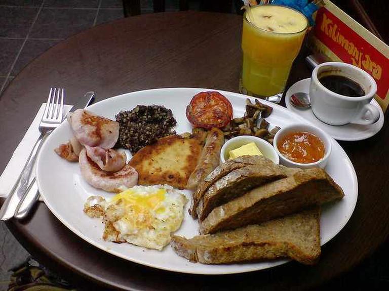 Perfect Breakfast?  © Mark Longair/Flickr