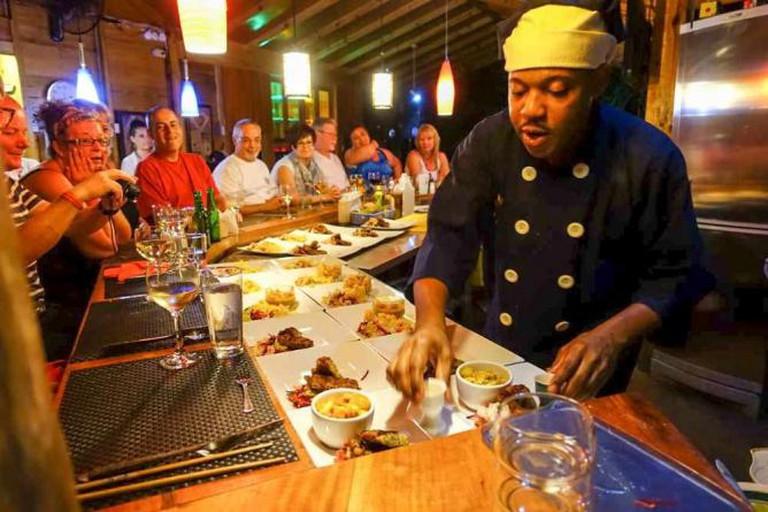 Zimbali's Chef Plating His Creation