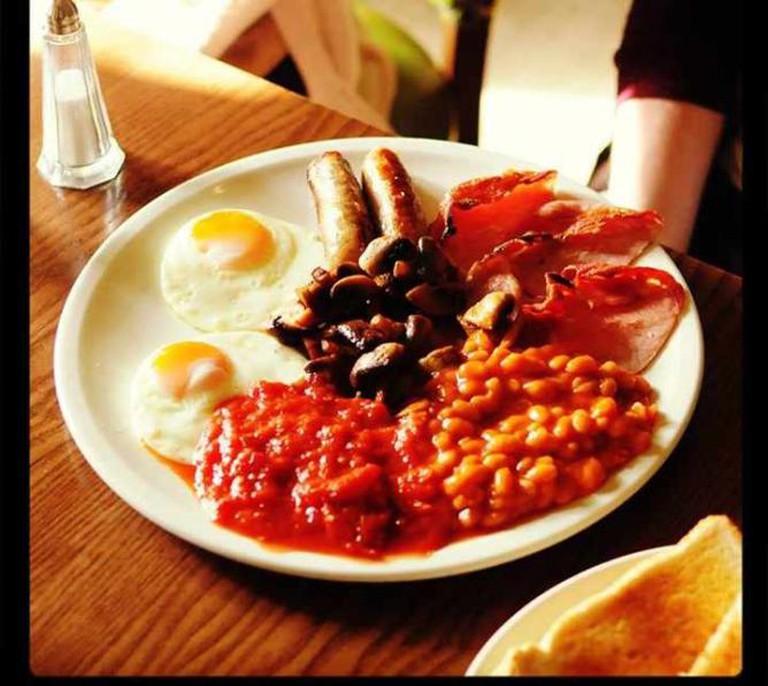 Meaty Breakfast | Courtesy of Interval