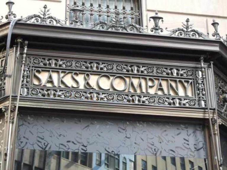 A Creative Commons image: Saks & Company Latticework | © Andy C/Google
