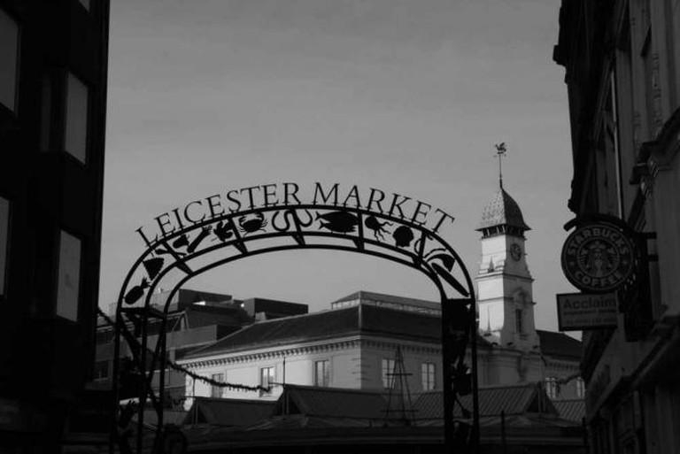 Leicester Market, Corn Exchange | © Chris Hoare/Flickr