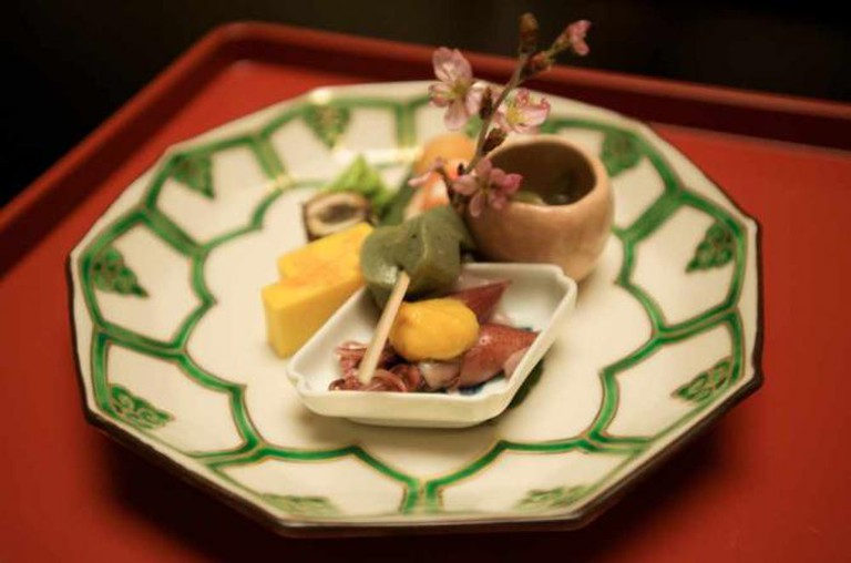 Kaiseki Hor d'ouvres | © Larry Halff/Flickr