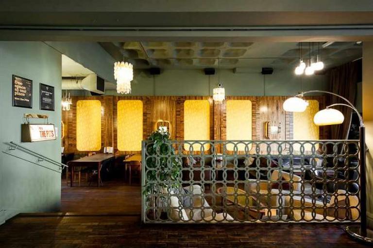 The Lansdowne Interior   Courtesy of The Lansdowne