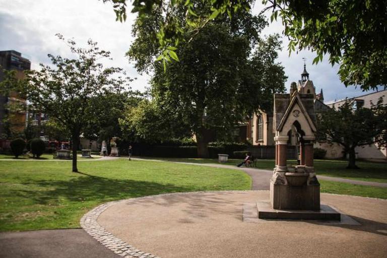 St Mary Magdalen Churchyard   Courtesy of Lamarr Golding