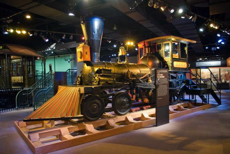 Chicago's First Railroad Locomotive|© Jeremy Artherton/WikiCommons