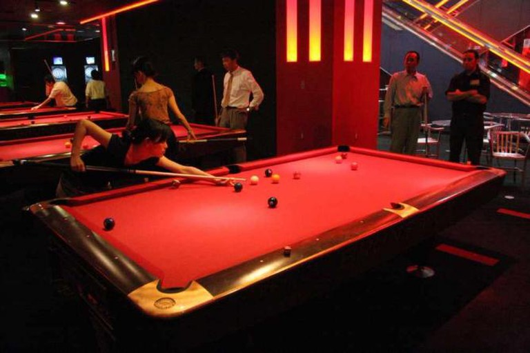 Pool Tables   © Andrei Harwell
