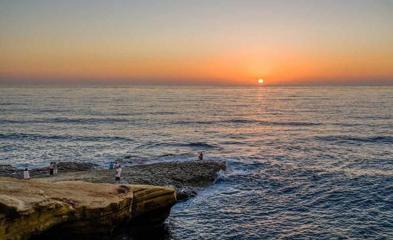 Sunset Cliffs   © Tuxyso/WikiCommons