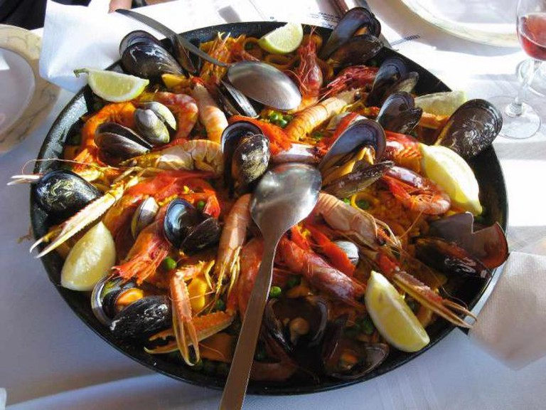 Paella ©Pilecka/Wiki Commons