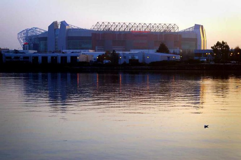 The Old Tafford Stadium, across the street from Hotel Football ©Steve Garry/WikiCommons
