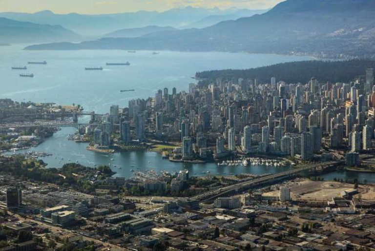 Vancouver - aerial view | © Cliff Hellis/Flickr