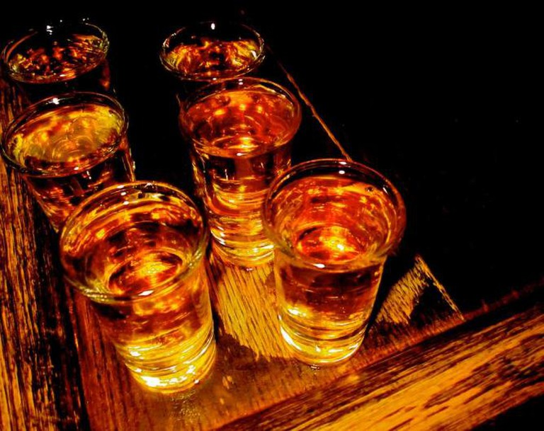 Whiskey Shots  | © Chris Goldberg/Flickr