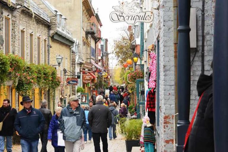 Rue du Petit Champlain, Quebec City | © Harvey Barrison/Flickr
