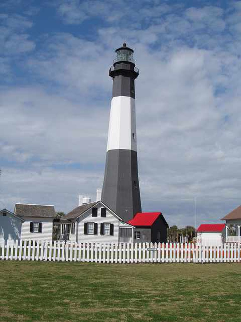 Tybee Island Lighthouse | ©‎ Doug Kerr/Flickr