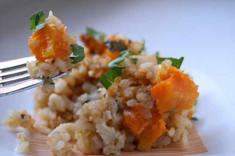Risotto with Butternut Squash and Sage|©thebittenword.com/Flickr