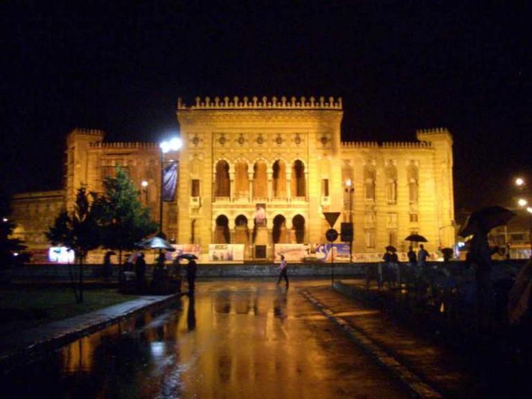 Sarajevo National Library | Ⓒ Saskia Heijltjes/Flickr