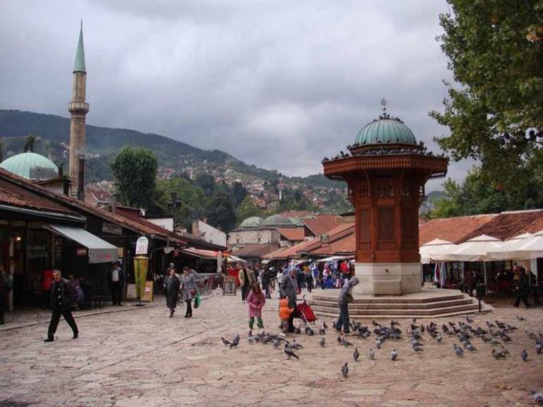 Sarajevo Old Town | Ⓒ Journey Jeff's Pix/Flickr