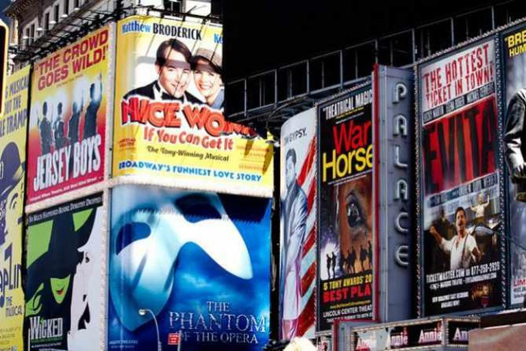 Broadway Ads in Times Square   © Broadway Tour/Flickr