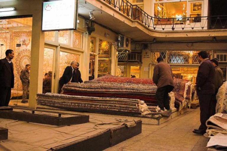 Carpet market   © Fabienkhan/Wikicommons