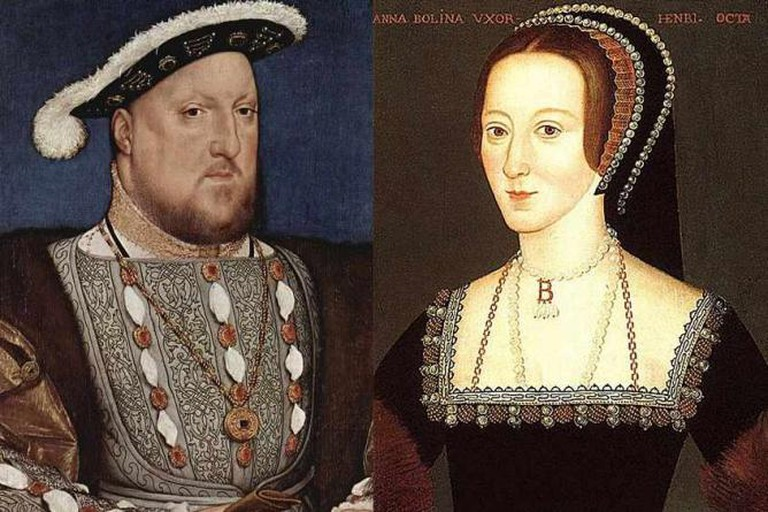 Henry VIII and his second wife, Anne Boleyn   © Qp10qp/WikiCommons