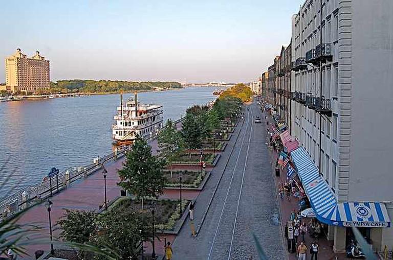 Savannah Riverfront | © David McSpadden/Flickr