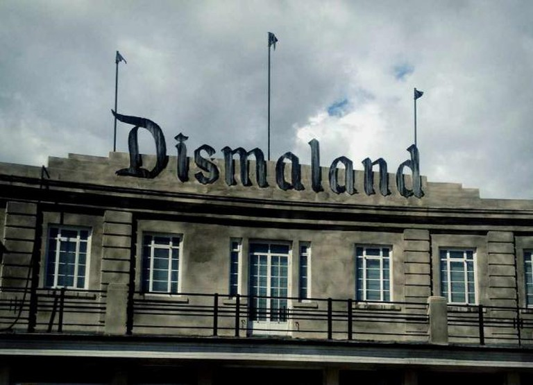 The ominous entrance to Dismaland | Courtesy of Marianna Hunt